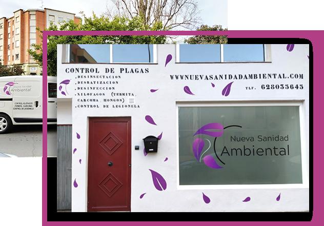Nueva Sanidad Ambienta, empresa control de plagas y sanidad ambiental en Logroño